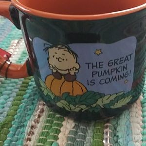 The great pumpkin peanuts cup